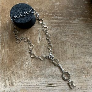 Jewelry - Necklace silver tone  🎶